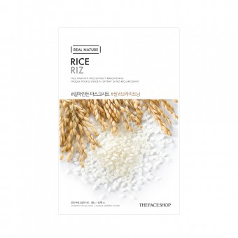 Real Nature Face Mask  Rice